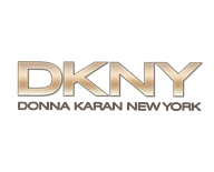 DKNY DY4048 55 Striped Brown