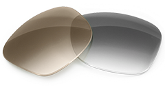 Gray and brown lens tints
