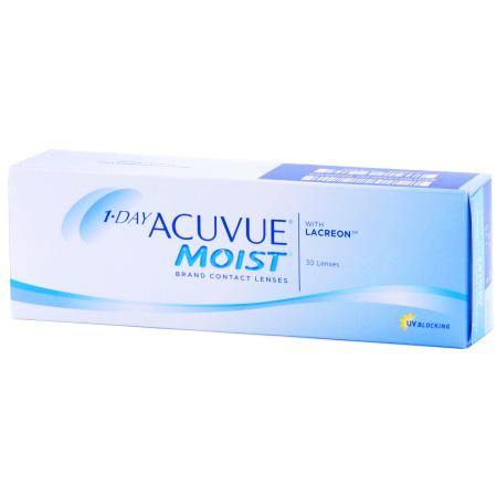 1 DAY ACUVUE MOIST 30 Pack Contact Lenses