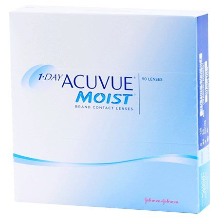 Acuvue 1-DAY ACUVUE MOIST 90 Pack contact lenses