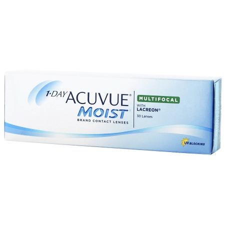 1 DAY ACUVUE MOIST Multifocal 30 Pack Contact Lenses