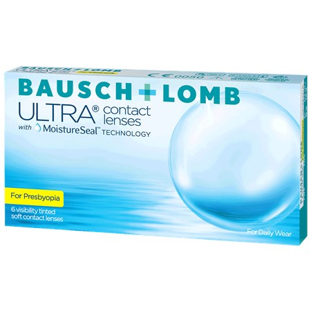 ULTRA Bausch + Lomb ULTRA for Presbyopia contact lenses