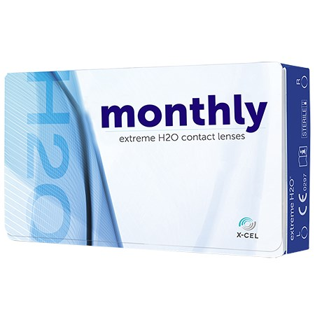 Extreme H2O Monthly 6pk contact lenses
