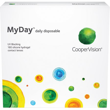 61a4aba775d Buy MyDay Daily Disposable 180 Pack Contact Lenses Online