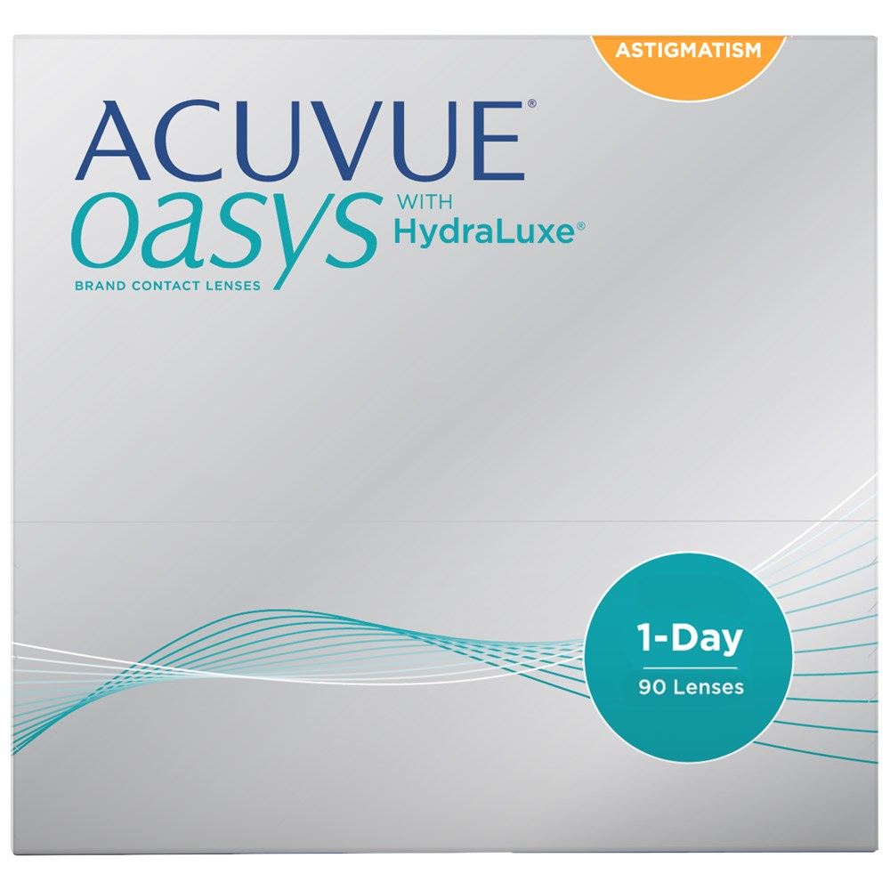 ACUVUE OASYS 1-Day for Astigmatism 90pk contact lenses