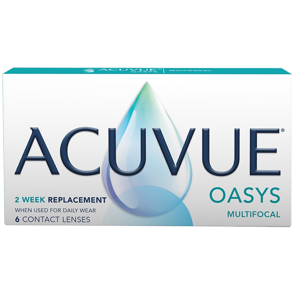 ACUVUE OASYS Multifocal contact lenses