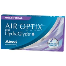 AIR OPTIX plus HydraGlyde Multifocal contact lenses