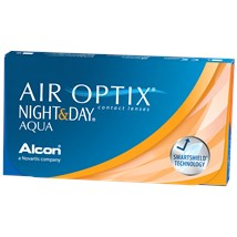 AIR OPTIX NIGHT & DAY AQUA Subscription 3-Pack contact lenses