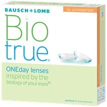 Biotrue ONEday for Astigmatism 90pk contact lenses
