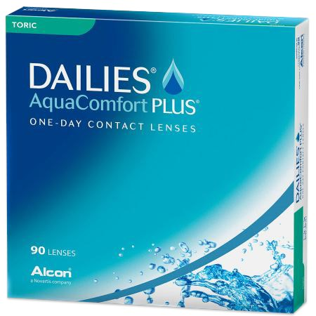 DAILIES AquaComfort Plus Toric 90 Pack contacts