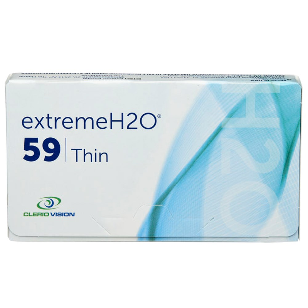 Extreme H2O 59 Thin contact lenses