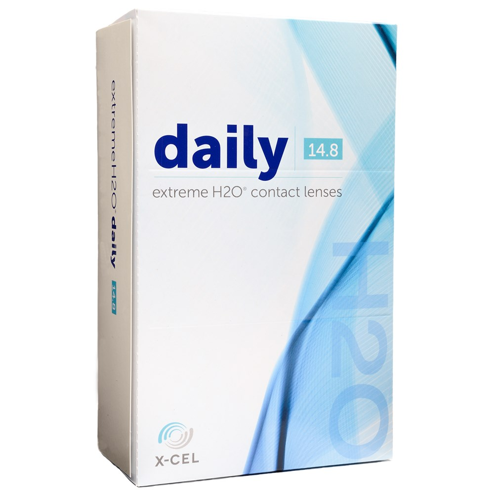 Extreme H2O Daily 90 Pack contact lenses