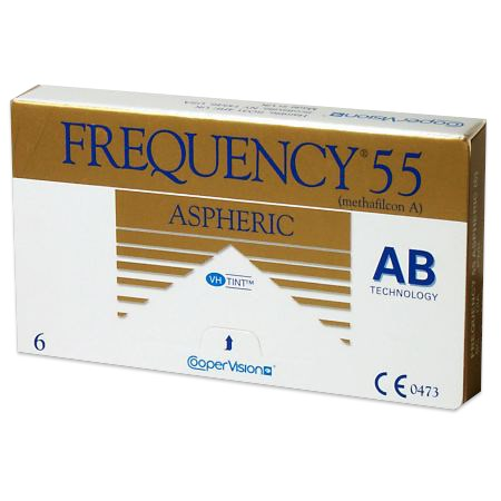 Frequency 55 Aspheric contacts