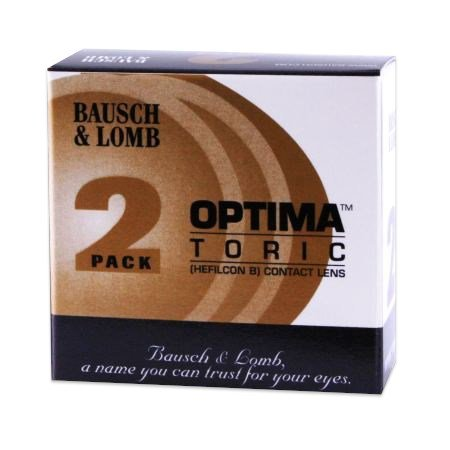 Optima Toric 2 Pack contact lenses