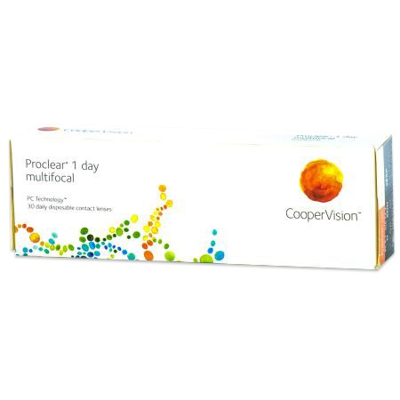 Proclear 1 day multifocal 30-pack contacts