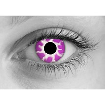 Purple Tempest contact lenses