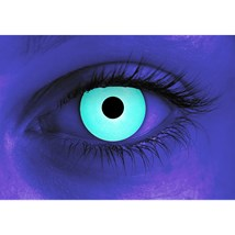 Rave Blue contact lenses