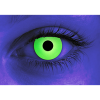 Rave Green contact lens