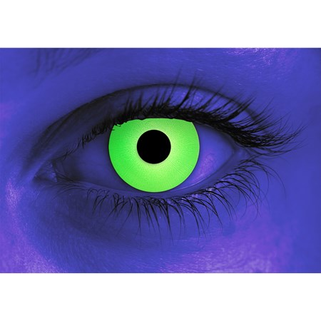 Special Effects Rave Green contacts