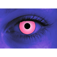 Rave Pink contact lens