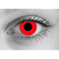 Vampire Red contact lens