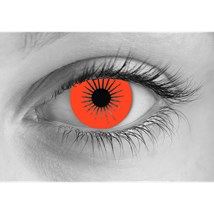 Zombie Fury contact lenses