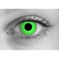 Zombie Green contact lens