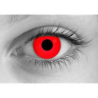 Zombie Red contact lens
