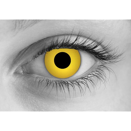 Special Effects Zombie Yellow contacts
