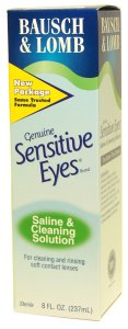 Buy This Sensitive Eyes Saline & Cleaning (8 oz) Here