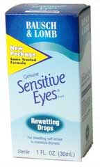 Buy This Sensitive Eyes Rewetting Drops (1 oz) Here