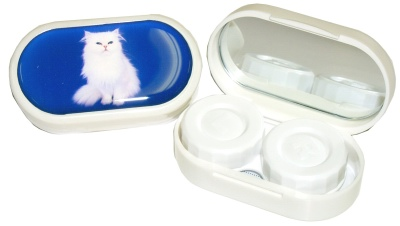 Buy Cat Contact Lens Case, Contact Lens Accessory online.