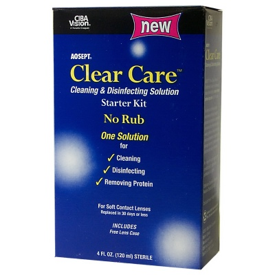Buy This Clear Care No Rub Starter Kit Here