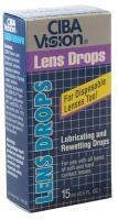 Buy Ciba Vision Lens Drops, Contact Lens Accessory online.