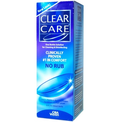 Buy Clear Care Cleaning and Disinfecting Solution, Contact Lens Accessory online.