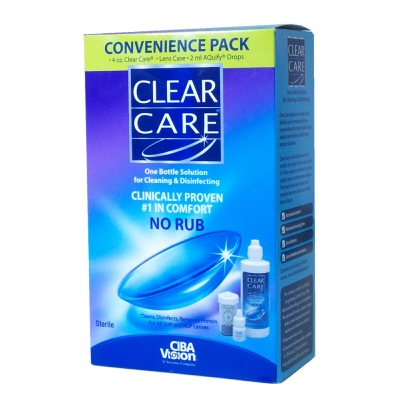 Buy Clear Care No Rub Starter Kit, Contact Lens Accessory online.