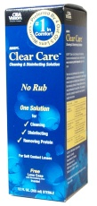 Buy This Clear Care Cleaning and Disinfecting Solution Here
