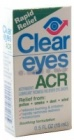 Buy Clear Eyes ACR Lens Drops, Contact Lens Accessory online.