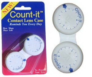 Buy Count-it Contact Lens Case, Contact Lens Accessory online.