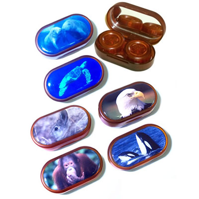 Buy Endangered Species Contact Lens Case, Contact Lens Accessory online.