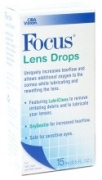 Buy Focus Lens Drops (15 mL), Contact Lens Accessory online.