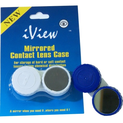 Buy iView Mirrored Contact Lens Case, Contact Lens Accessory online.