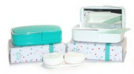 Buy Contact Lens Case w/Mirror, Contact Lens Accessory online.