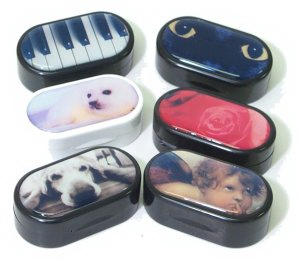 Buy Designer Contact Lens Cases, Contact Lens Accessory online.