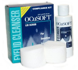 Buy This Ocusoft Eyelid Scrub Compliance Kit Here