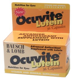 Buy This Bausch & Lomb Ocuvite with Lutein Here
