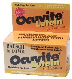 Buy Bausch & Lomb Ocuvite with Lutein, Contact Lens Accessory online.