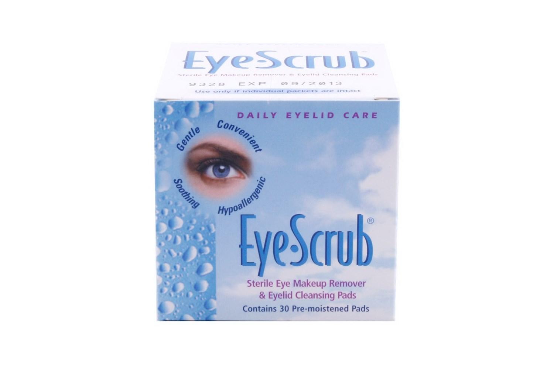 Eye Scrub Cleansing Pre Moistened Pads