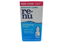Bausch and Lomb Renu Contact Lens Rewetting Drops (.5 fl. oz.)