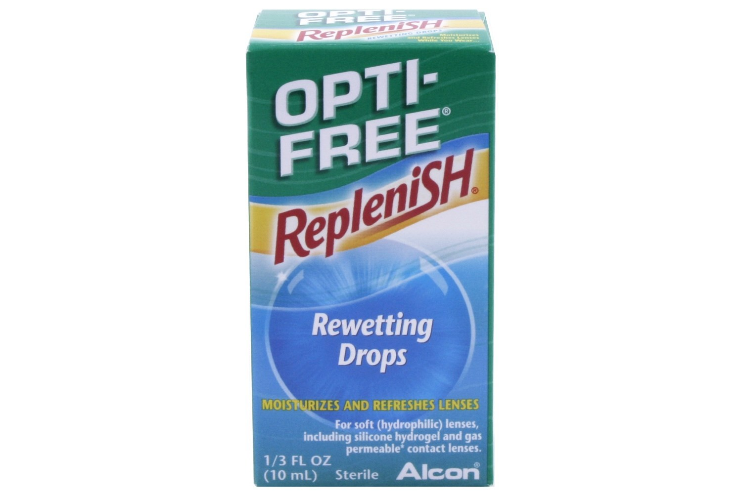 Opti Free Replenish Rewetting Drops 33 fl oz